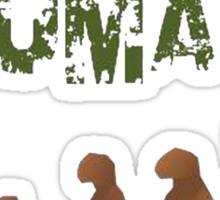 Being Human - Devolution Sticker