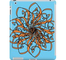 Orange Lotus iPad Case/Skin