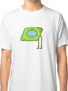 Funny Alien Monster Character Classic T-Shirt