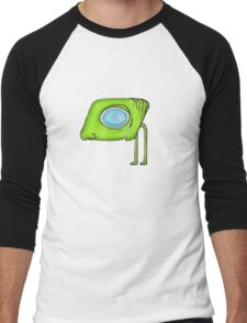 Funny Alien Monster Character Men's Baseball ¾ T-Shirt