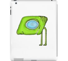 Funny Alien Monster Character iPad Case/Skin