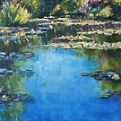 Reflections & Lilies, Giverny by Terri Maddock