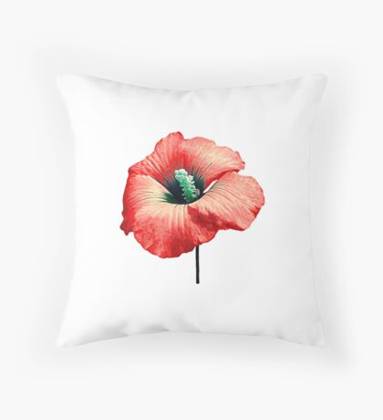 Your Flower Perfume Throw Pillow