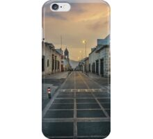 Deserted Street in Arequipa Peru iPhone Case/Skin