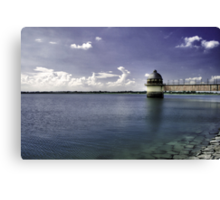 Summer breeze, fresh water and lots of vitamin D! Canvas Print