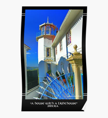 ...an house with a Lighthouse... Poster