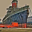 The SS United States by Monte Morton