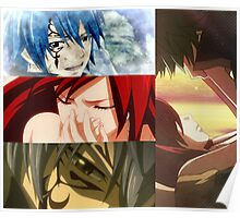 Jellal & Erza - Fairy Tail Poster