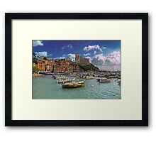 Lerici - The Bay and the Castle Framed Print
