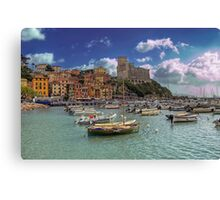 Lerici - The Bay and the Castle Canvas Print