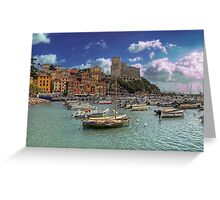 Lerici - The Bay and the Castle Greeting Card