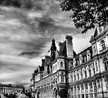 Paris in black and white  by Andrea Rapisarda