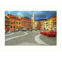 Lerici - Main Square Art Print