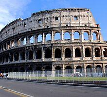 Colosseum,Rome by DimitriS-Gr