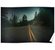 Middle of the Road Poster