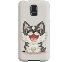 Happy Siberian husky Samsung Galaxy Case/Skin