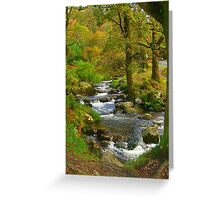 Magical Glendalough, Ireland Greeting Card