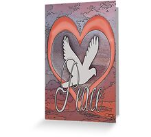Inspire Peace Greeting Card