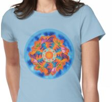 Metamorphic Reflections Womens Fitted T-Shirt