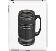 ❁◕‿◕❁  TELESCOPIC LENSE COFFEE CUP TEE SHIRT  ❁◕‿◕❁    ✾◕‿◕✾ iPad Case/Skin