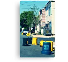 recycling day Canvas Print