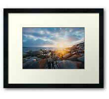 Bay of Fires Sunrise Framed Print