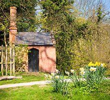Pond Pumphouse: Bushey Park Wooded Area. London. UK by DonDavisUK
