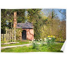 Pond Pumphouse: Bushey Park Wooded Area. London. UK Poster