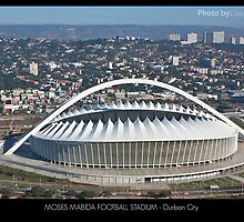 Moses Mabida Football Stadium by Lebogang Manganye
