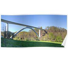 Bridge at Natchez Trace Poster