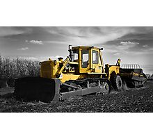 Yellow Digger Photographic Print
