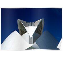 Palau De Les Arts - The Feather - CAC - At noon Poster