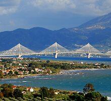 Rion-Antirrion Bridge,Western Greece by DimitriS-Gr