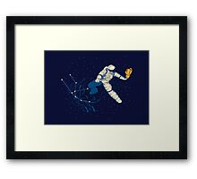 Wild Ride in Space Framed Print