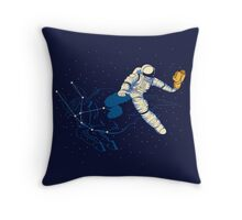 Wild Ride in Space Throw Pillow