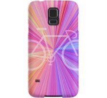 Bike Pink Gradient Samsung Galaxy Case/Skin