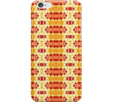 Yellow, Orange and Red Abstract Design Pattern iPhone Case/Skin