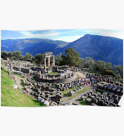 Delphi,Central Greece Poster