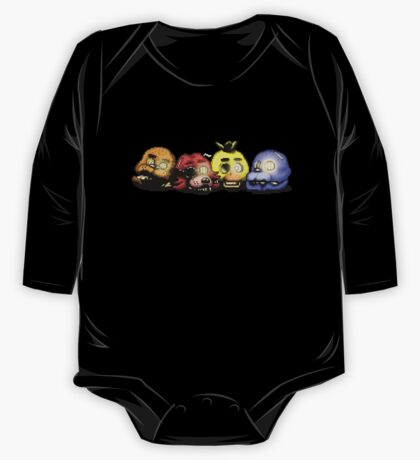 Five Nights at Freddy's 3 - Pixel art - Bad Ending One Piece - Long Sleeve