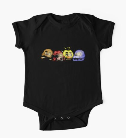 Five Nights at Freddy's 3 - Pixel art - Bad Ending One Piece - Short Sleeve