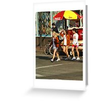 Texas Crossing Greeting Card
