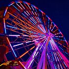 Ferris Wheel (close-up) by Stephen Burke