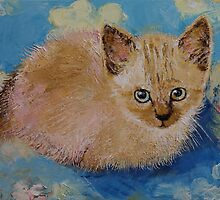 Siamese Kitten by Michael Creese
