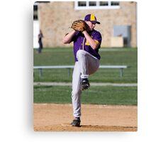 Matt Armour (EHS) pitching vs Fallston 4-14-10 Canvas Print