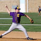 Matt Armour (EHS) pitching vs Fallston by Gregg Tulowitzky
