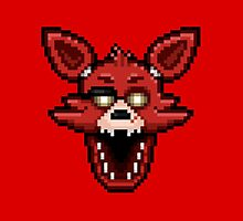 Five Nights at Freddy's 1 - Pixel art - Foxy by GEEKsomniac