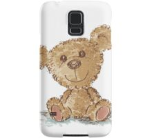 Teddy bear sitting Samsung Galaxy Case/Skin