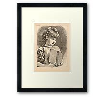 Five Mice in a Mouse Trap Laura Elisabeth Howe Richards and Kate Greenaway 1881 0143 Fluff Framed Print