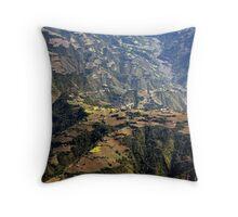Kathmandu Valley Throw Pillow