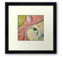 Juniper Forest Elf Framed Print